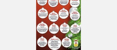 programa de las actividades navideñas en Dolores 2017.