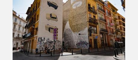 Tras la pista del Arte Urbano en el barrio de El Carmen (Valencia)