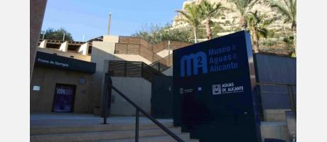 Una tarde en el Museo de Aguas de Alicante