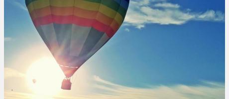 Viaje en globo por Elche y su Palmeral
