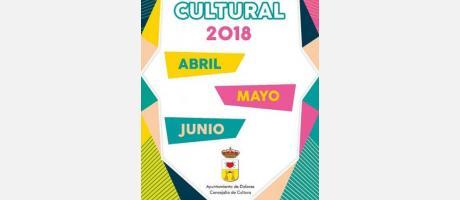 Agenda Cultural mayo - junio Dolores 2018