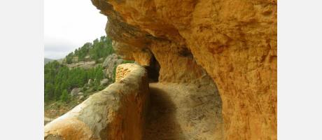 Acceso al santuario Balma
