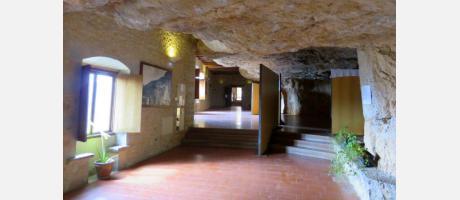 Exposición en el santuario de Balma