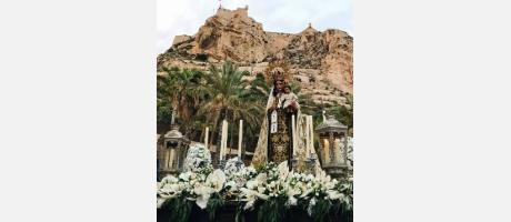 Virgen del Carmen Coronadaaa