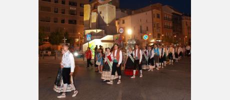 Tradicional desfile