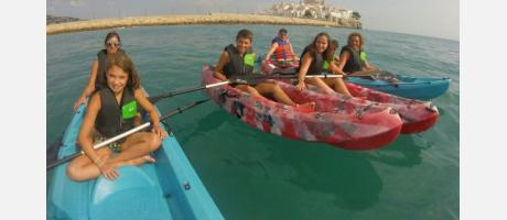 Conociendo Peñíscola en kayak