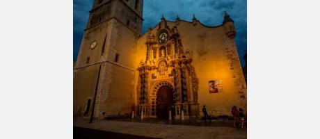 Espectáculo de luz y música en Vinaròs