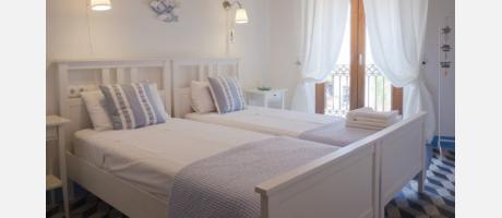 Una de las habitaciones con encanto