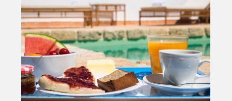 Desayuno al aire libre