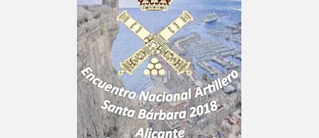 Encuentro Nacional Artillero Bárbara 2018