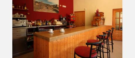 Bar del albergue