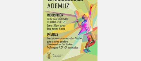 Torneo de pádel ADEMUZ