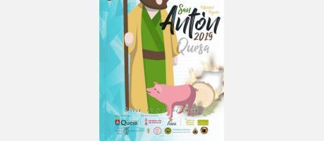 Fiesta de San Antón en Quesa
