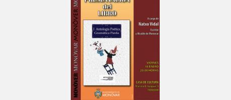 Cartel Presentación de Antología Poética