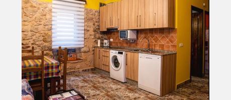 Zona de la cocina