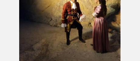 Actores en el castillo