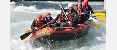 Rafting en las Hoces del Cabriel