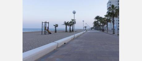 Playa del Saladar de Alicante