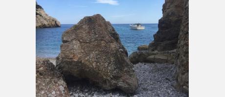 Cova tallada Xàbia