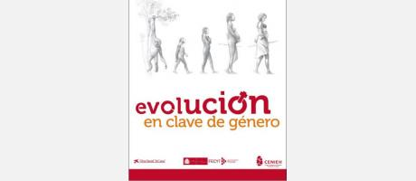 Cartel de la Exposición Evolución en clave de género