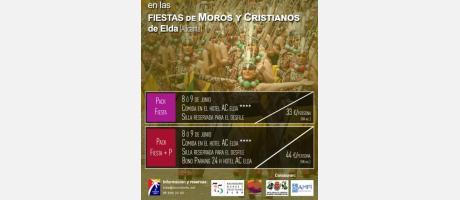 Pack Festero Moros y Cristianos 2019