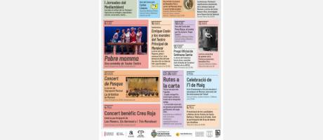 Agenda cultural Abril 2019