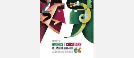 Cartel Fiestas de Moros y Cristianos
