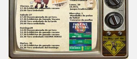 Fiestas en Honor a San Pedro de Verona (Festes dels Fadrins)