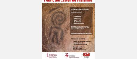 Visites guiades pintures rupestres abric del castell