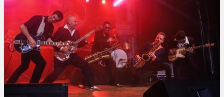 Dani Nelo los Saxofonistas Benicàssim Blues Festival