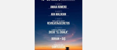 Peñíscola from Stage - Festival de Música a orillas del Mediterraneo