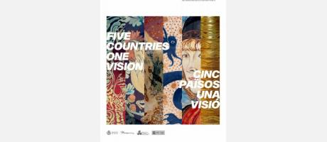 cartel anunciador con imágenes de las piezas participantes