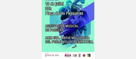 XVI Campaña de conciertos de intercambios musicales EPNDB