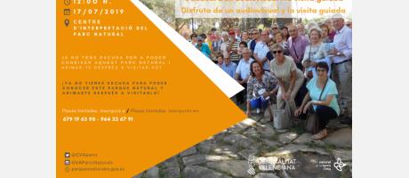 Visitas guiadas al Centro de Información del Parque Natural Sierra de Irta 2019