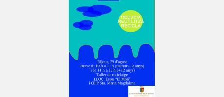 Campaña de educación ambiental: taller de reciclaje EPNDB