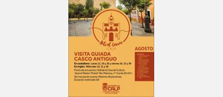 VISITA GUIADA CASCO ANTIGUO