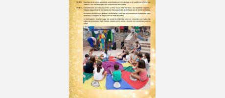 Programa de fiestas Sant Xotxim 2019