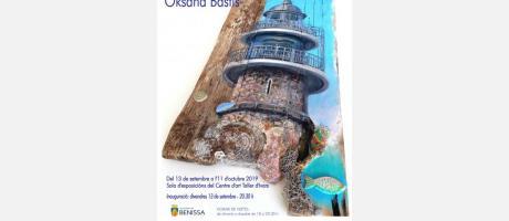 CARTELL EXPOSICIO MARE NOSTRUM - OKSANA BASTIS