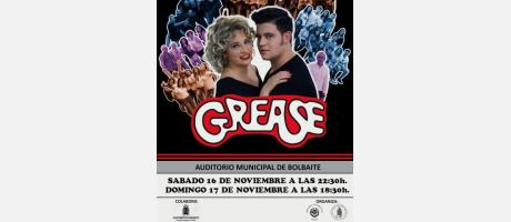 Grease el musical en Bolbaite