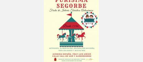 Cartel anunciador Feria de la Purísima de Segorbe