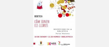 Bebeteca: Cóm sonen els llibres EPNDB