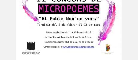 II Concurso de micropoemas EPNDB
