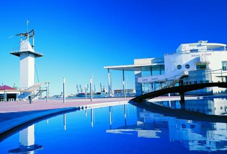 Plaza del Mar en El Grao de Castellón de la Plana