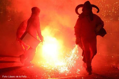 Cabalgata del Foc Fallas de Valencia