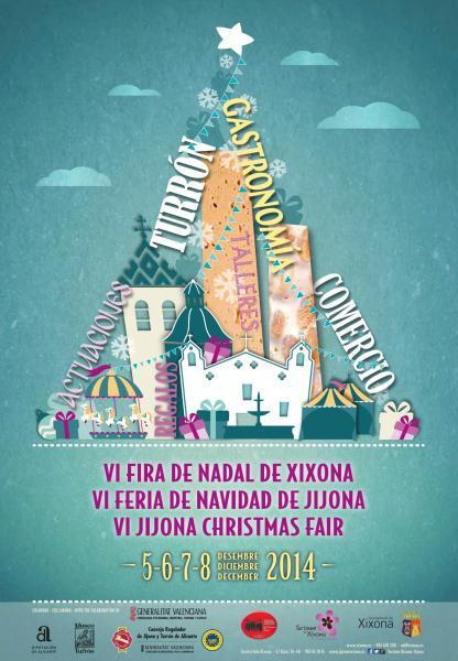 Cartel VI Feria de Navidad de Jijona