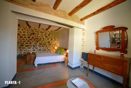 Casa rural La Rocha (habitación)