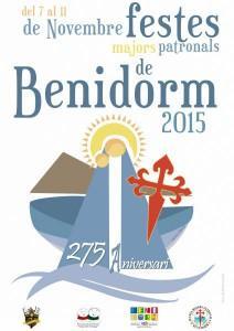 """Programa Festes Majors Patronals 2015 """"275 Aniversari"""". 2015"""