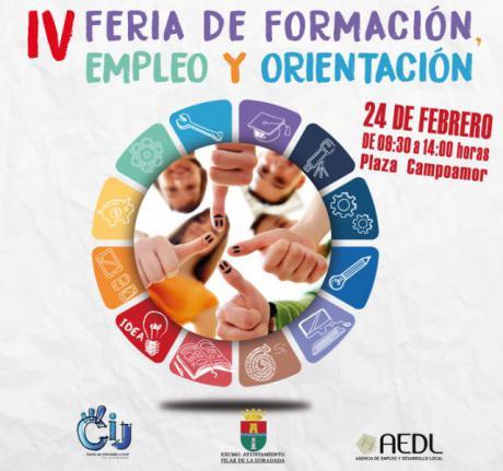 IV Feria de Formación, empleo y orientación educativa en Pilar de la Horadada