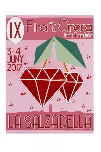 Feria de la Cereza, Arte y Tradición La Salzadella 2017