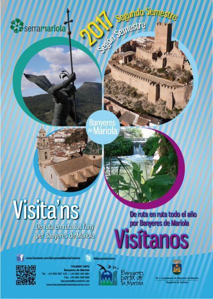 Visita'ns De ruta en ruta tot l'any per Banyeres de Mariola